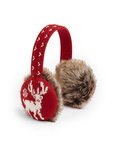 Ralph Lauren - Little Girl's Reindeer Earmuffs - Saks.com