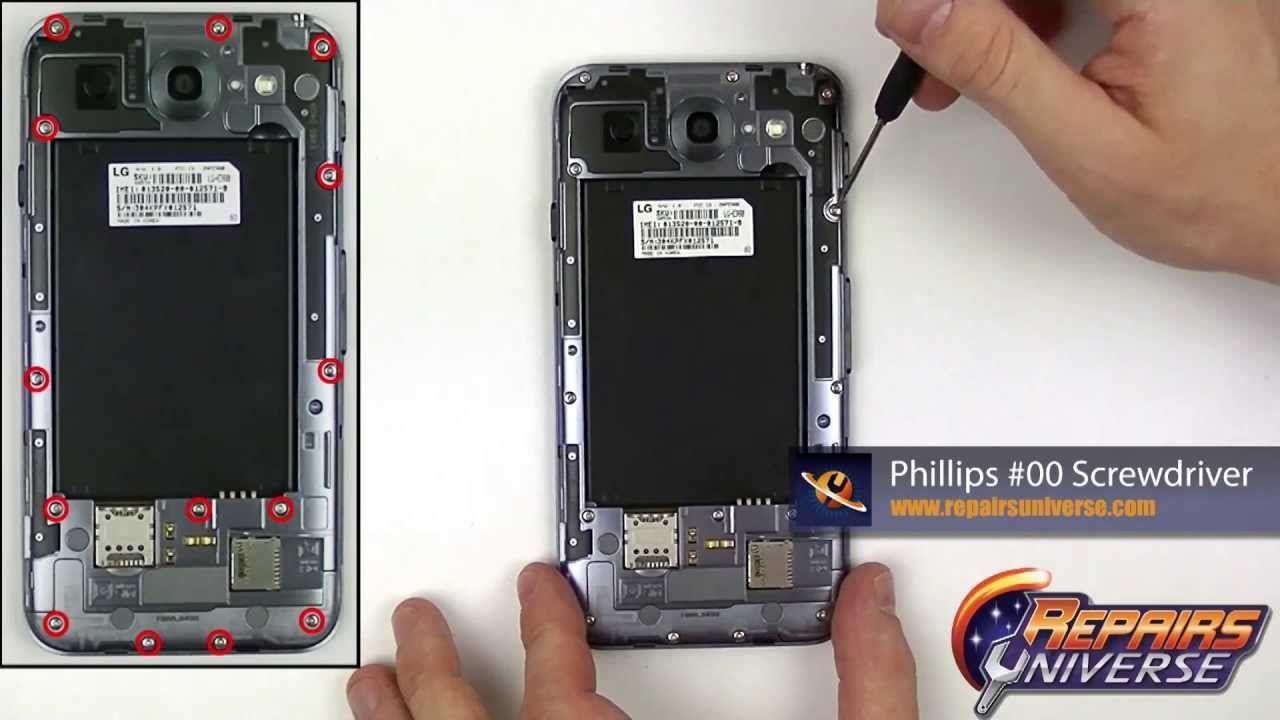 Lg optimus g pro speaker replacement guide repair guide