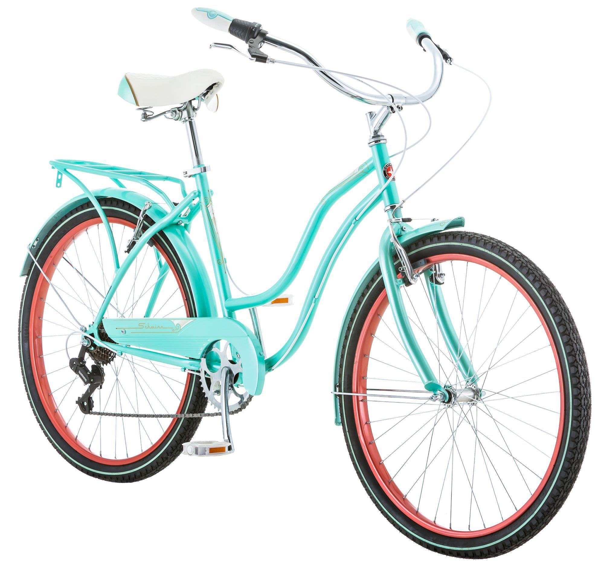 Schwinn Women's Perla 26'' Cruiser Bike, Blue Bicycle