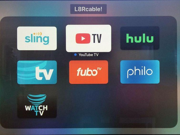 Hulu vs youtube tv vs sling tv vs att tv now vs more