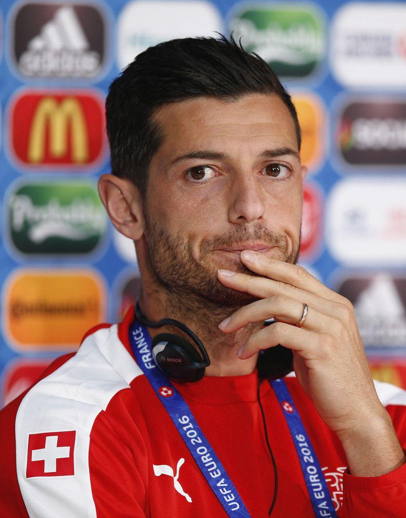 Blerim Dzemaili Photos Photos Euro 2016 Switzerland Press Conference Euro 2016 European Championships Euro