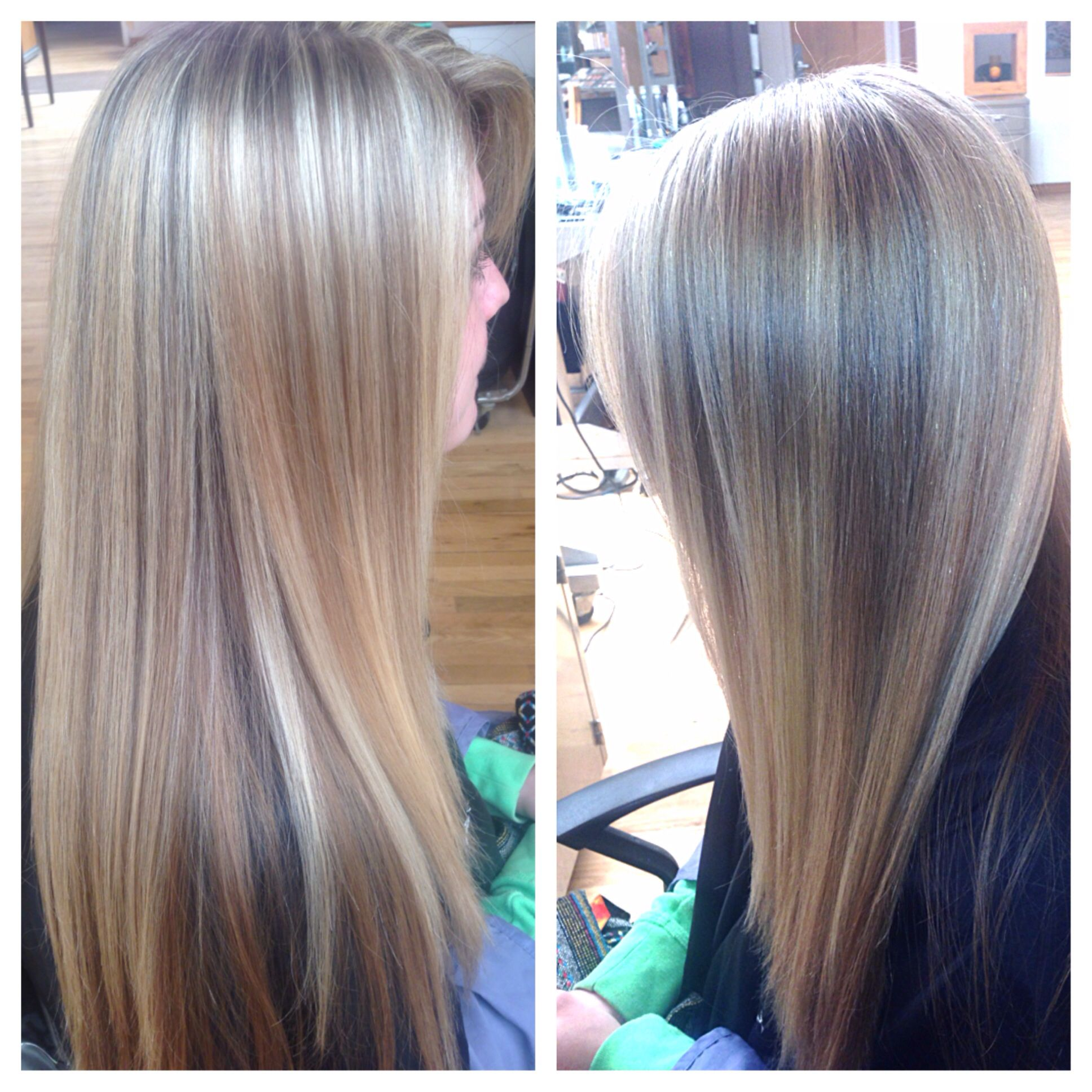 Blonde bright blonde highlights long hair aveda  Hair styles
