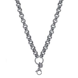 1820quot silver double link custom chain origami owl