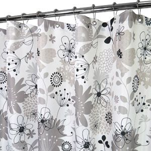Watershed Bloomin Shower Curtain Fabric Shower Curtains Shower