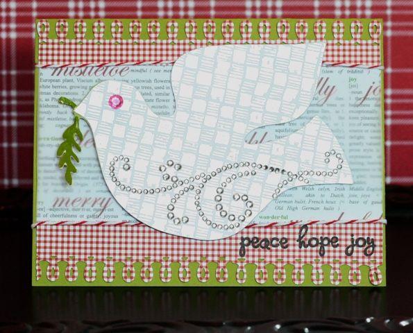 Holiday Cards Blog Hop Scandinavian Cricut Cartridge Dove Card Dove Christmas Card Cricut Cards Holiday Cards