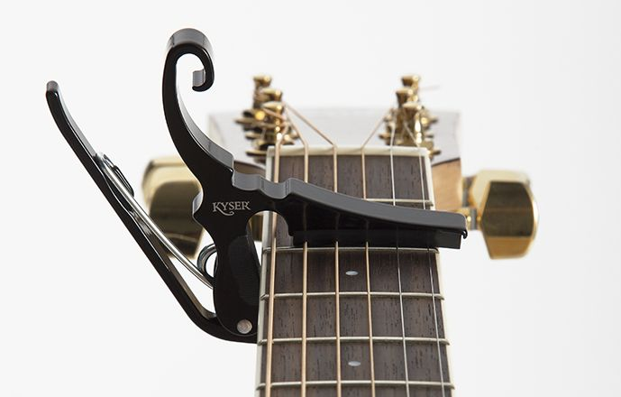 Kyser Kgdba Drop D Capo Black Guitar Capo Guitar Capos