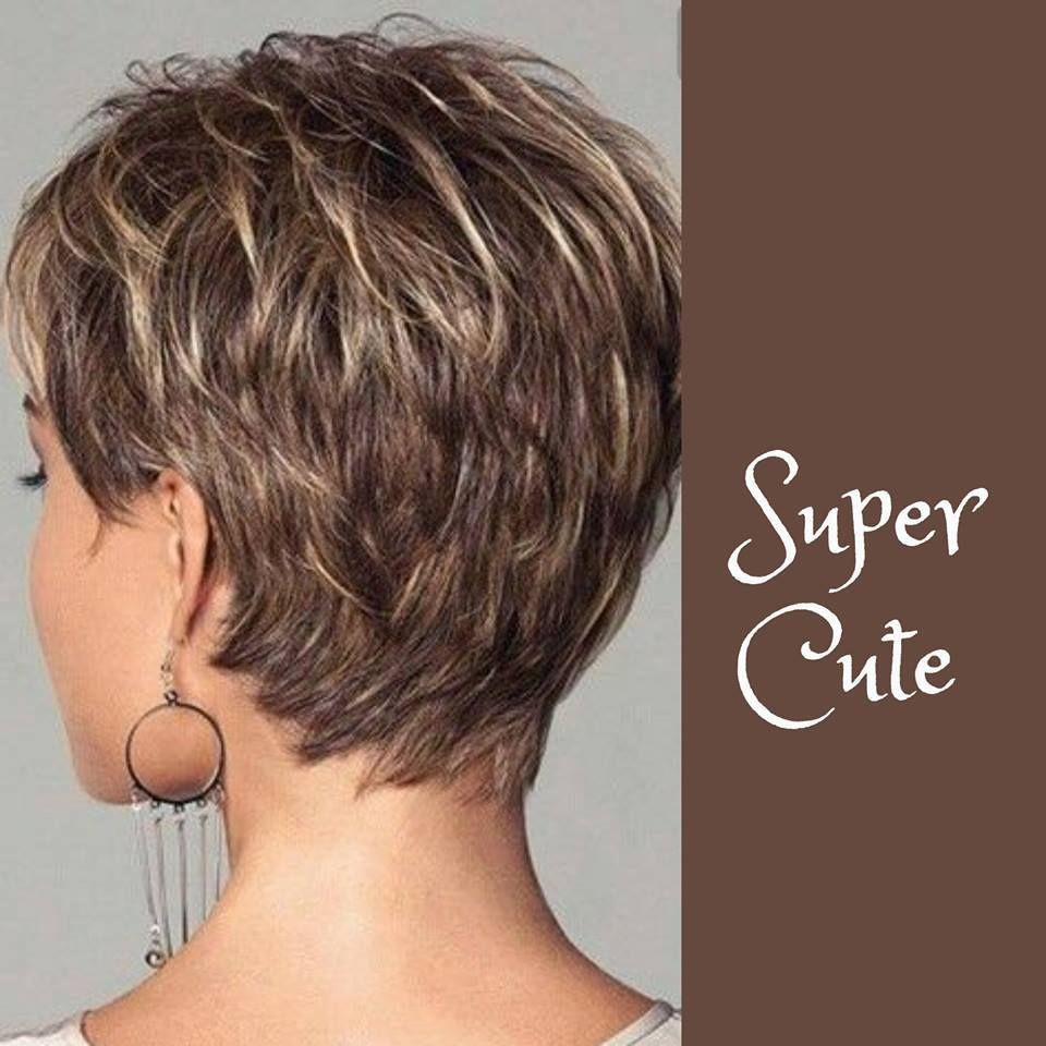 Super cute short hair with blonde highlights hairstyles