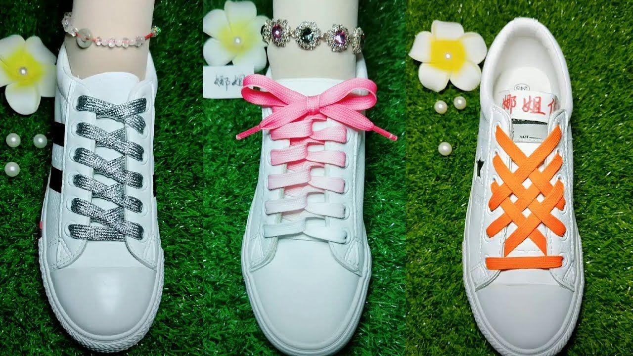 Ways to lace shoes, Shoe laces