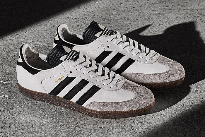 42a2cad43e5088 Adidas Samba OG - Made in Germany - White Black Gum