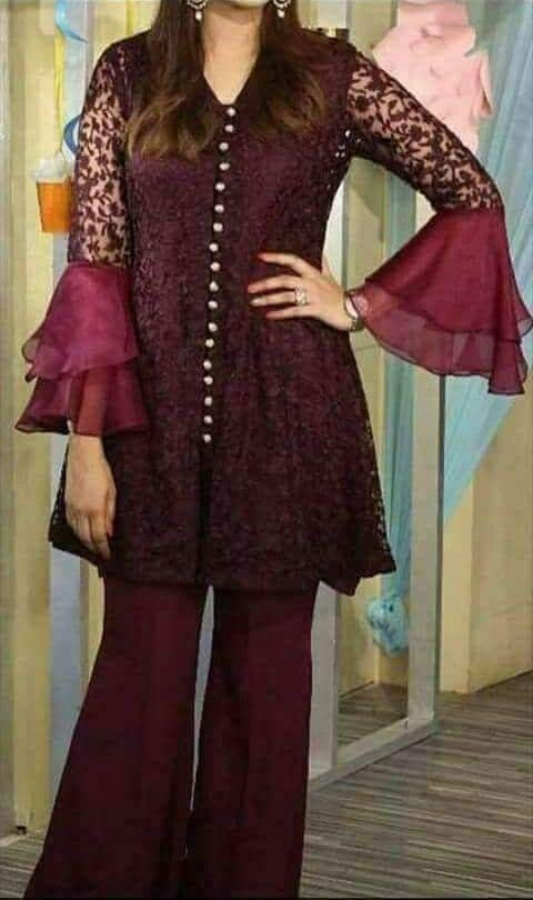 Pin By Shabana Merchant On My Wardrobe Fashion Dresses Sleeves Designs For Dresses Pakistani Dresses
