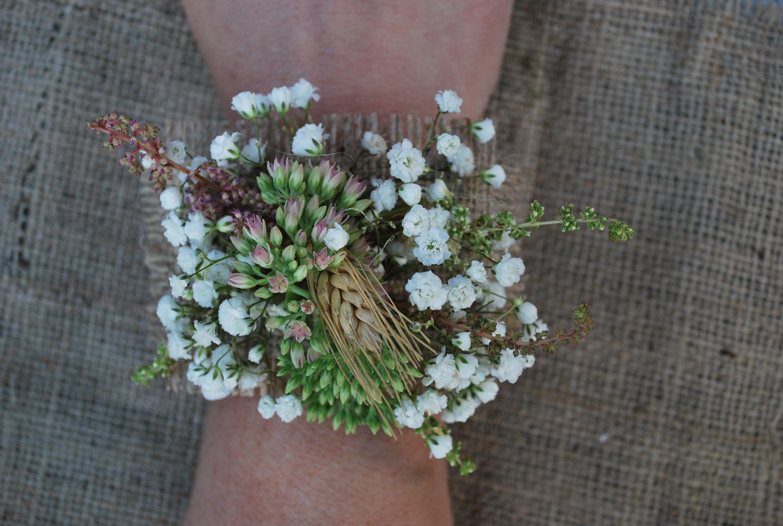 Astilbe Buckets Fresh Flower Market Wrist Corsage Fresh Flower Market Babys Breath Flowers