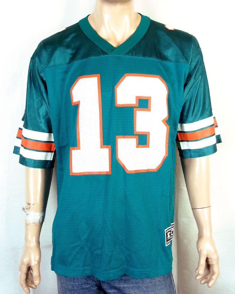 cd6804678 vtg 90s Starter NWOT mint Dan Marino NFL Jersey Miami Dolphins Football HOF  48  Starter  MiamiDolphins