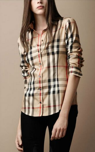 48e6cca98d06 ... Plaid Printed Vintage Design Lady long Sleeve Slim women Shirt top-in  Blouses   Shirts from Apparel   Accessories on Aliexpress.com   Alibaba  Group