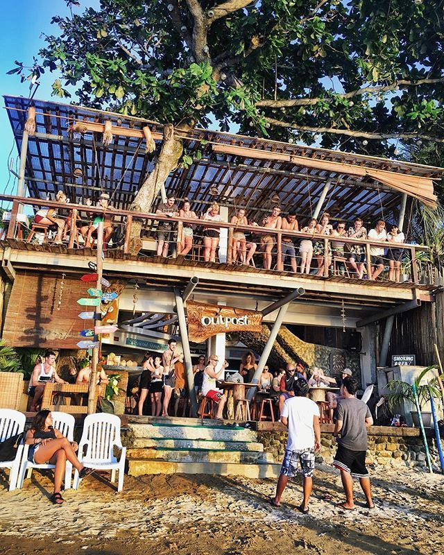 Todays to do list:  Laze out in the sun on the beach  Island hopping with my new hostel friends  Chill and rest on the beautiful lounge  Enjoy the fun vibe on the bar at sunset Outpost Beach Hostel El Nido Philippines  @bespokejourneysbyamy