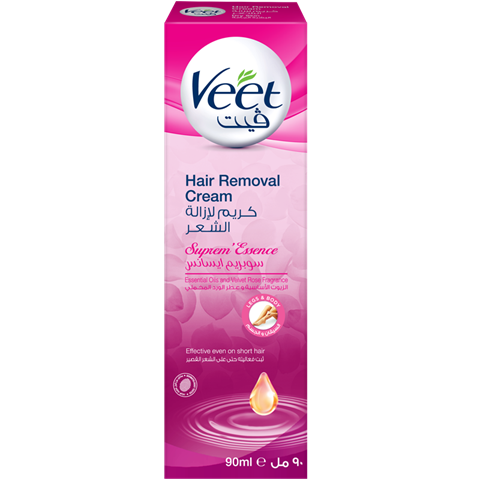 جربي كريم ڤيت سوبريم إيسانس لإزالة الشعر للبشرة العادية والجافة المعزز بمزيج من الزيوت الأساسية والمعطر بالو Hair Removal Cream Hair Removal Body Hair Removal