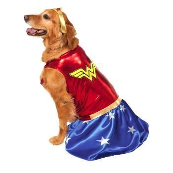 Wonder Woman Halloween Costume Products Dog Halloween Wonder