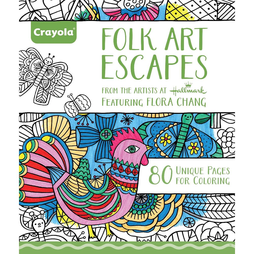 Coloring is for everyone! Crayola presents the perfect art escapes ...