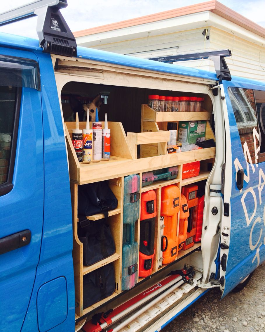 Ply storage carpenter eine Idee wie man das Auto sinnvoller