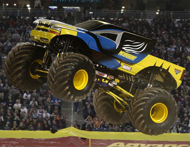 Monster Jam Trucks All The Biggest Names In The Sport Will Be