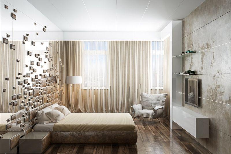 Wohnideen Gästezimmer gästezimmer mit wandgestaltung aus glas wohnideen fürs