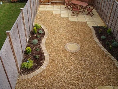 Cute Create A Compacted Rock Patio Maryland Landscape