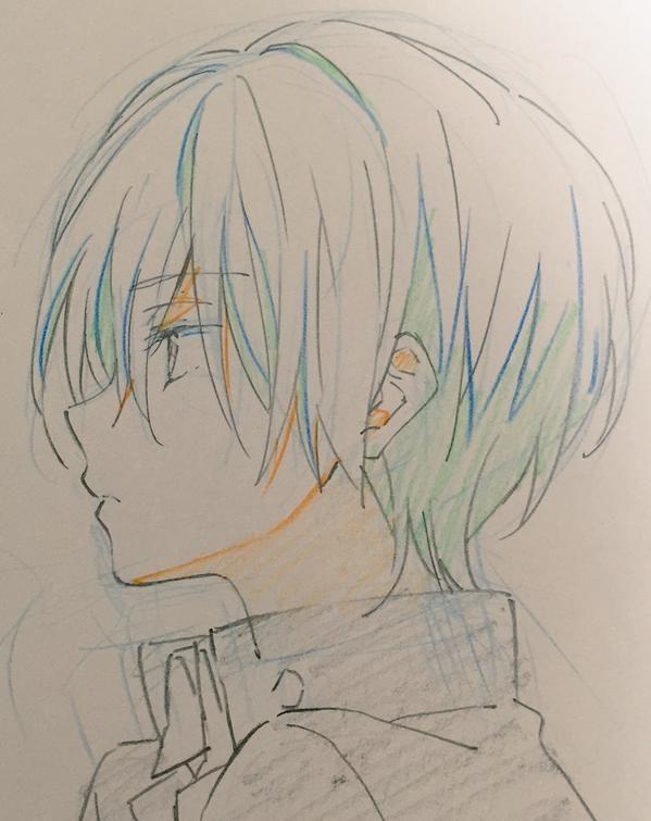 Anime Character Design Sketch : まめおじさん on anime guys boys and characters