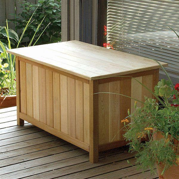 Exceptionnel Cedar Creek   Classic Cedar Storage Bench In Benches U0026 Storage