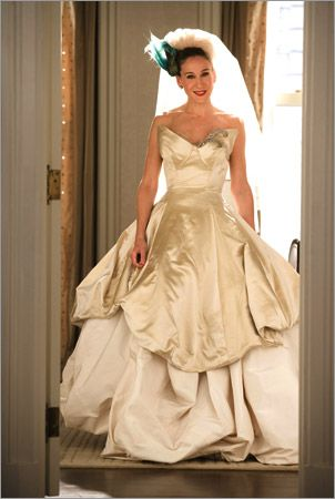Carrie Bradshaw wedding style. | My Textile Wedding | Pinterest ...