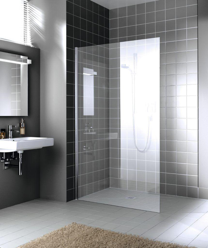 glazen inloopdouche badkamer inspiratie inloopdouche