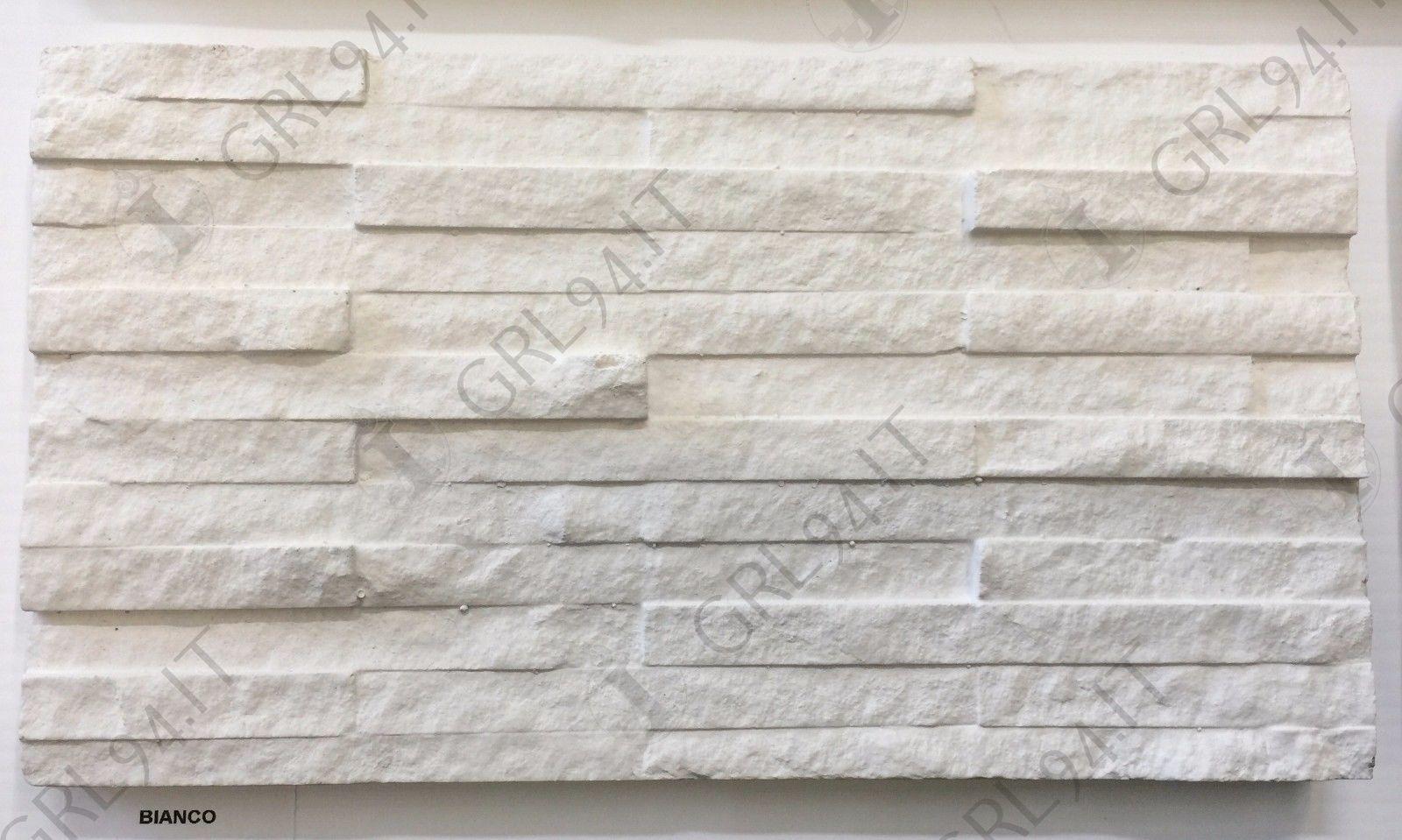 Pietra ricostruita new glamour bianca cgm rivestimento finta