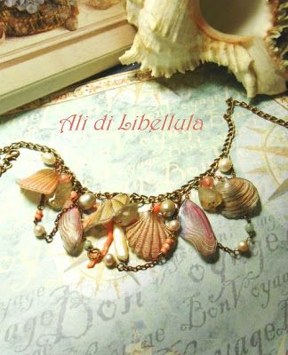 """Dragonfly Wings: COLLIER """"COQUILLAGE"""""""