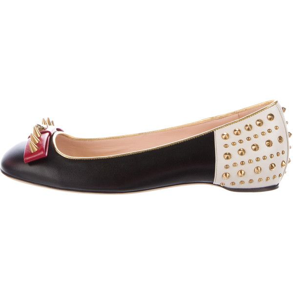 Pre-owned - Leather flats Gucci cO747LLBen