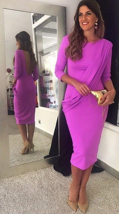 Vestido Angela !! #invitadaperfecta#rosa#wedding#moda#invotadaboda ...