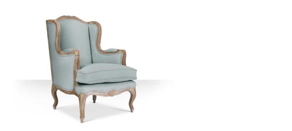 Swoon Editions The Armelle in duck egg blue cotton