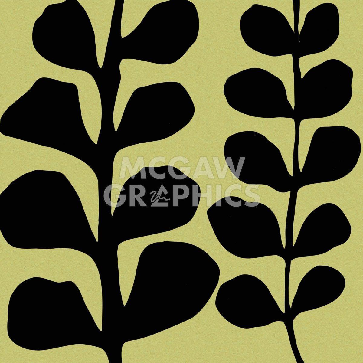 Black Fern on Green | Fern, Artsy fartsy and Artsy