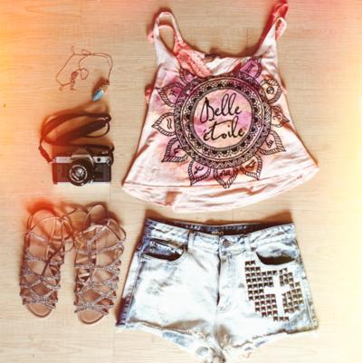 Tenues Hipster · Tenues Courtes · Tendances Estivales · Beau · Short ·  hippie chic c830105040d