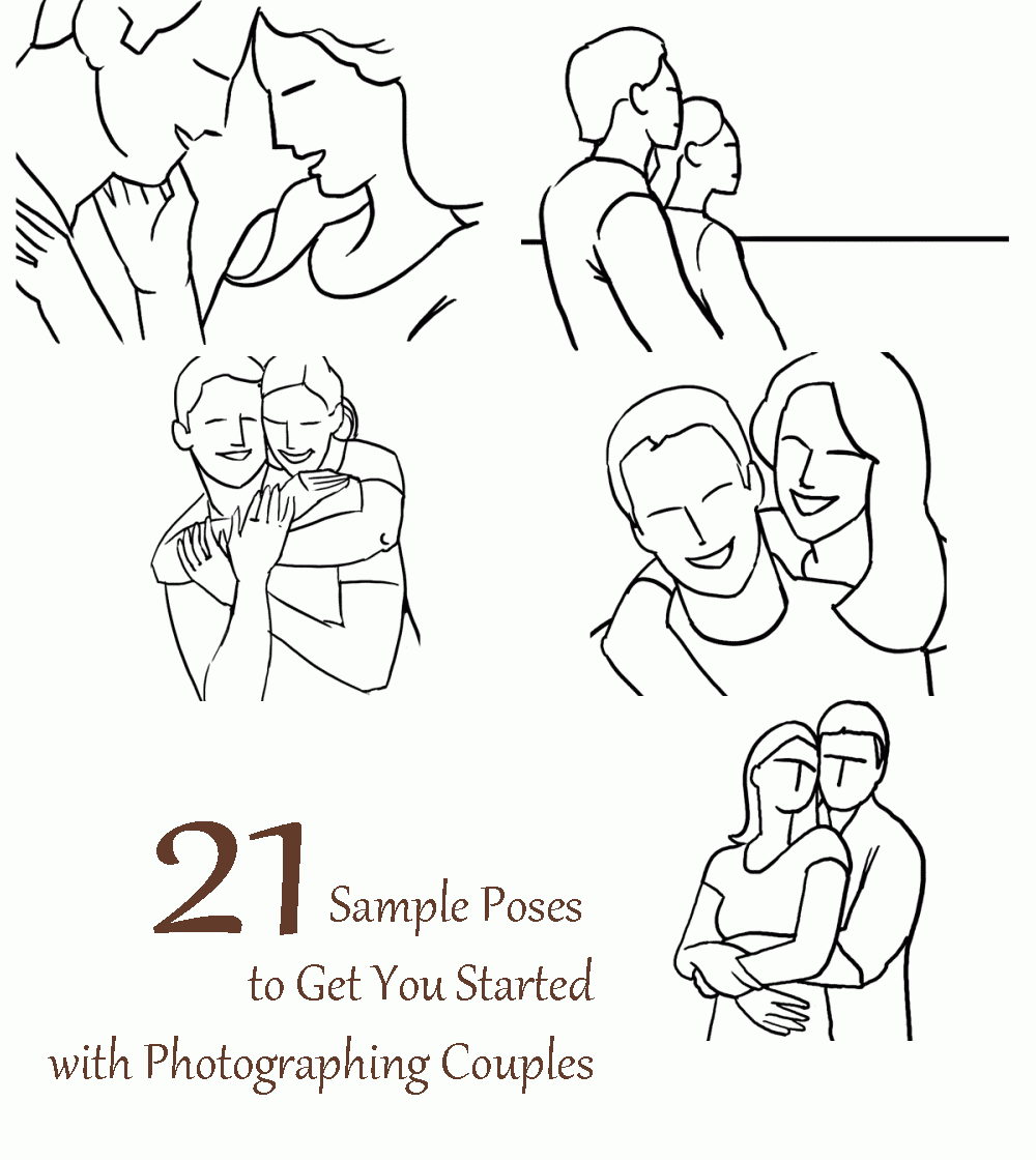 21 Sample Poses to Get You Started with Photographing