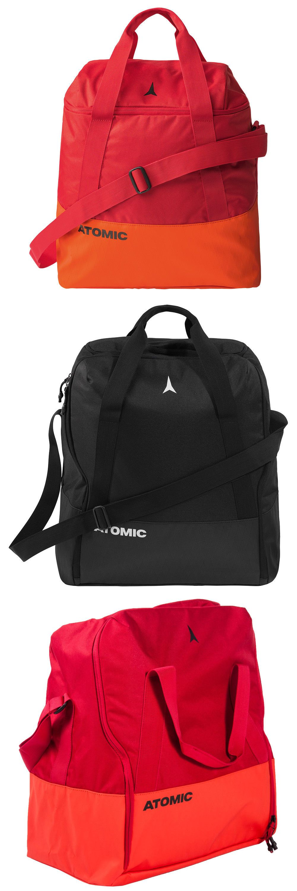 acfd96632d42 Bags and Backpacks 21229  2019 Atomic Boot And Helmet Bag For Snow Sports  New Red Or Black Al50383 -  BUY IT NOW ONLY   40 on  eBay  backpacks   atomic ...