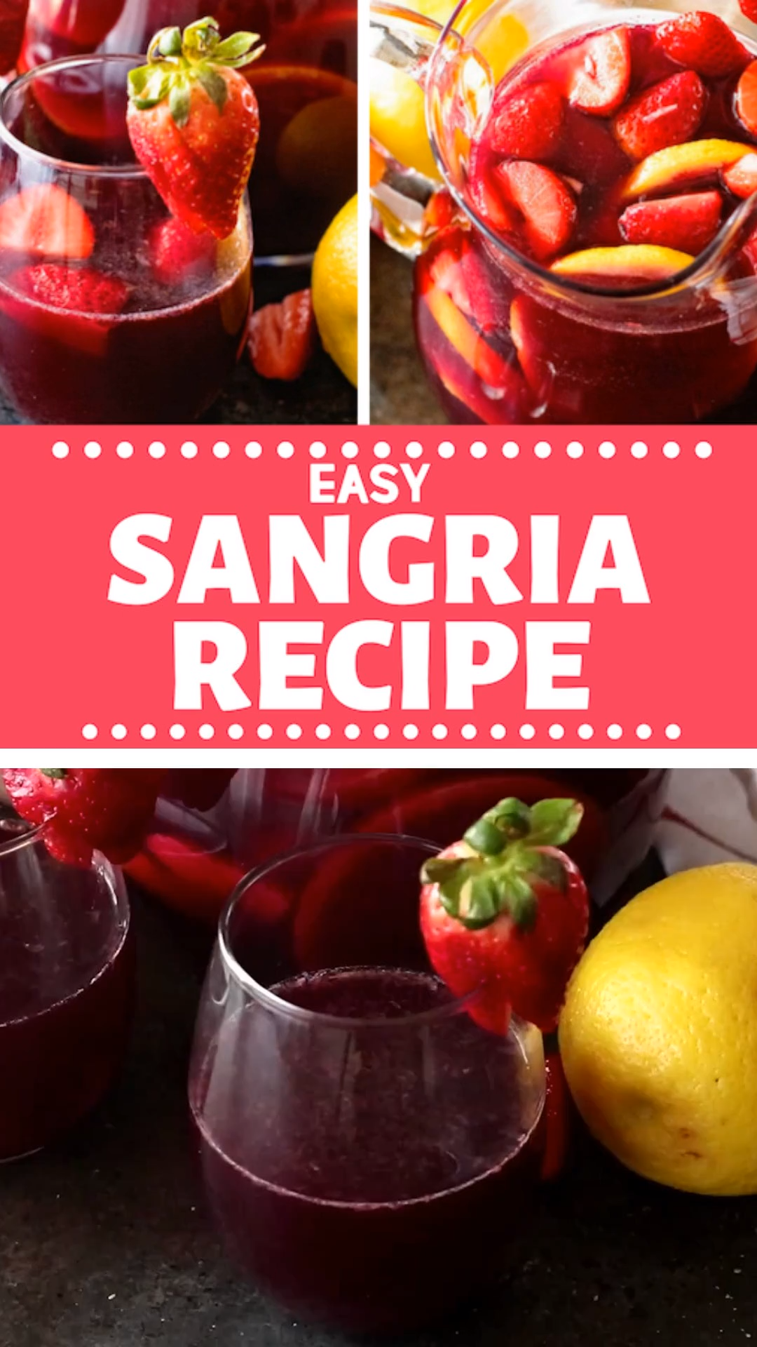 Easy Sangria Recipe Recipe