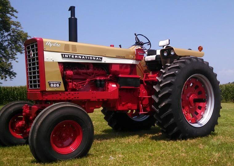 Tractor Wiring Harness International Farmall 826 806 Farmall ... on