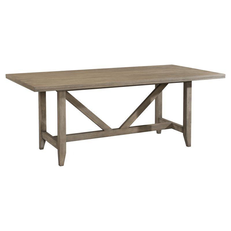 Cresent Fine Furniture Corliss Landing Dining Table 5650 Dining Table Dining Table In Kitchen Trestle Dining Tables