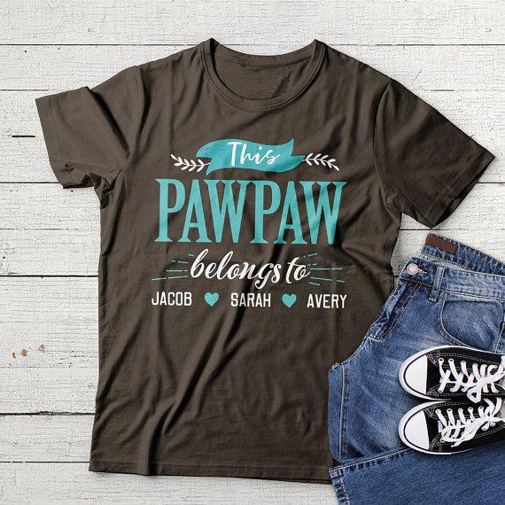 bf86667ae8a7 Personalized Pawpaw Shirt Grandpa Shirt Pawpaw Gift For Pawpaw T Shirt  Fathers Day Shirt Pawpaw Tshirt Pawpaw Birthday Grandfather Shirt by  NameOnShirt