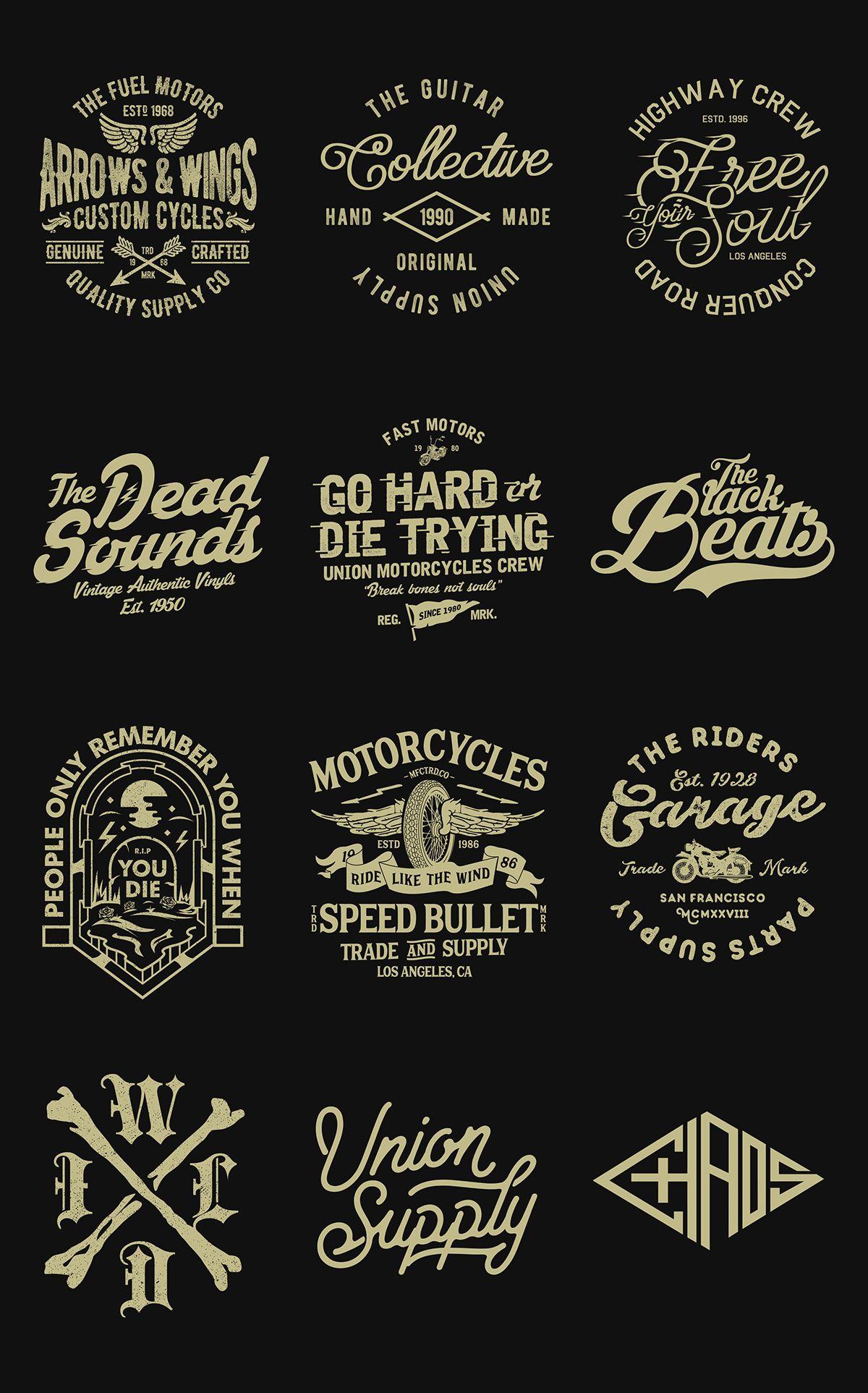 Recent Works On Behance Logo Design Infographic Vintage Logo Design Lettering Design