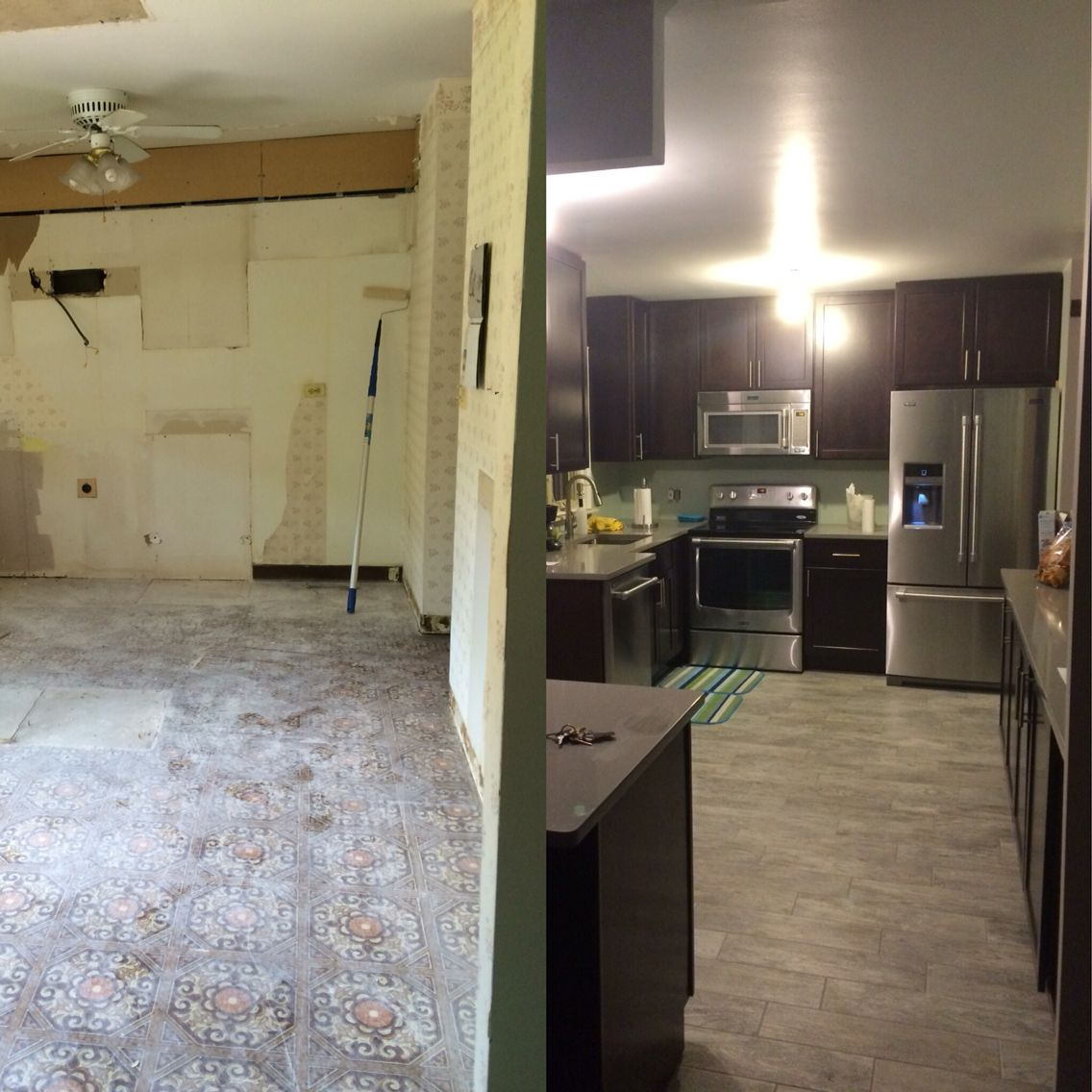 New Kitchen Before And After: My New Kitchen Before And After