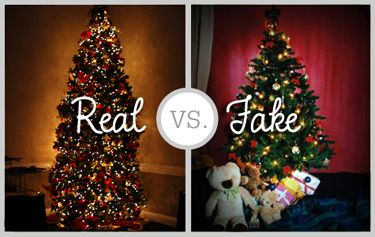 Christmas Tree Facts Real Vs Artificial Fake Christmas Trees Real Christmas Tree Christmas Post
