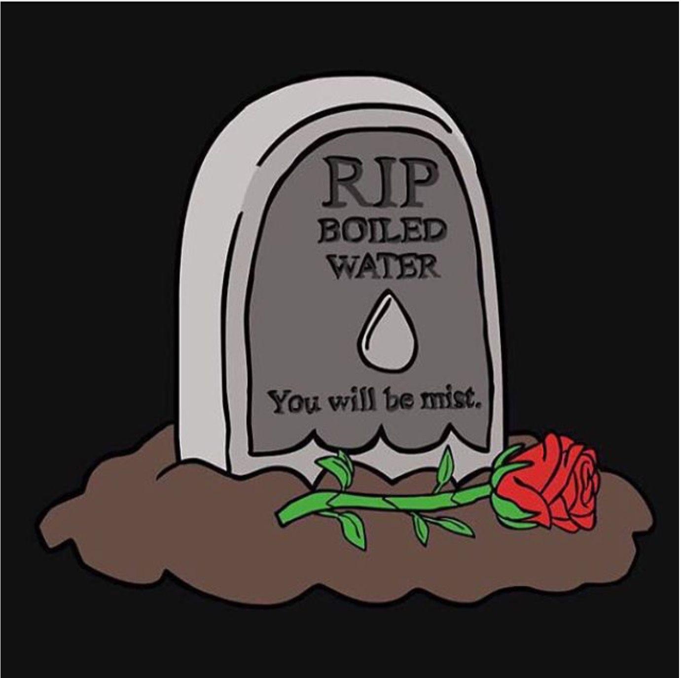 RIP Boiling water. You'll be mist #punny   Funny puns jokes, Nerdy jokes,  Punny jokes