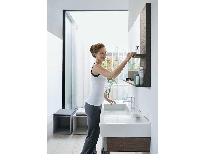 VERO Single vanity unit by DURAVIT design Kurt Merki Jr.