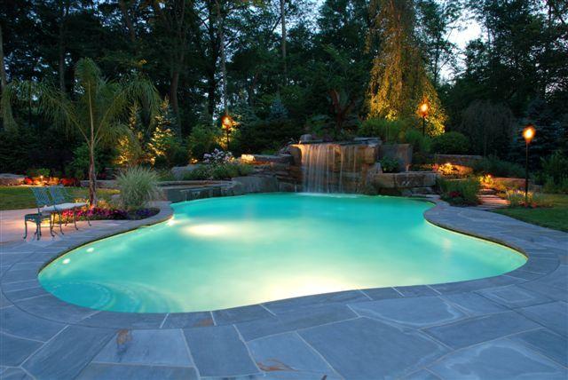Pin By Lisa Birdsong On For The Home Backyard Pool Pool