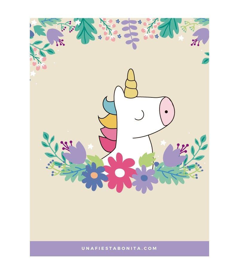 Resultado De Imagen Para Invitaciones De Unicornio Para