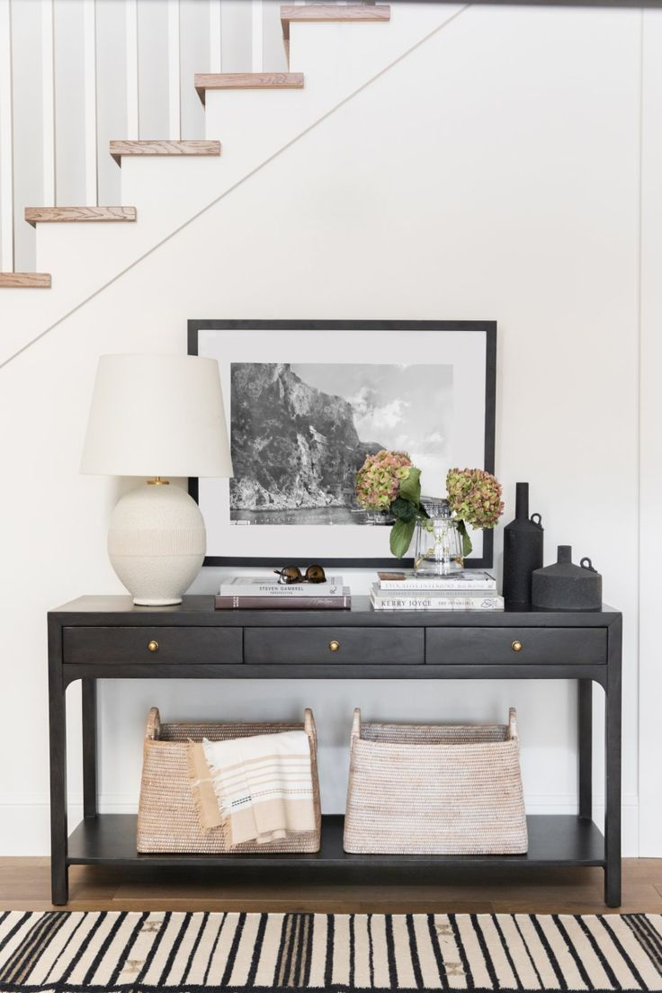 Dec 19, 2019 - A few of our go-to entryway styling tricks